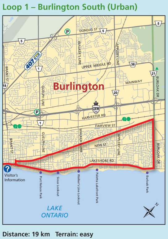 Cycling In Halton Maps A Disappointment Milton Cycle Network - Burlington map